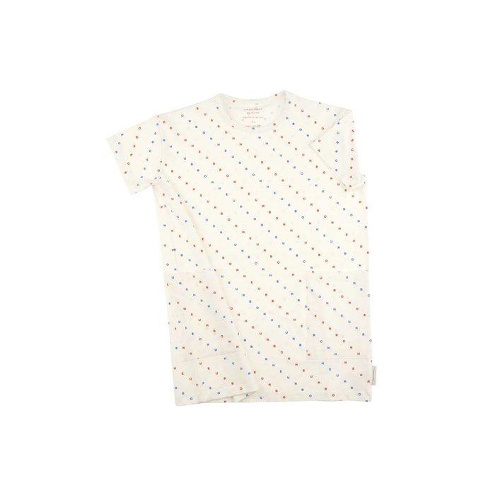 Bonheur Oversized Dress White/Dots