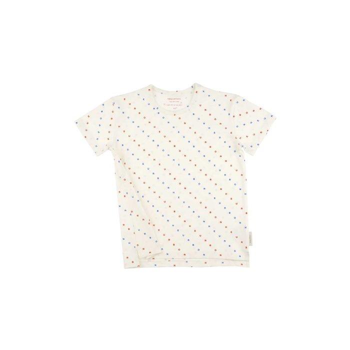 Bonheur Tee White/Dots