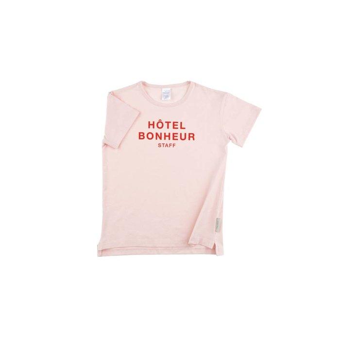 Big Hotel Bonheur Staff Tee Pink