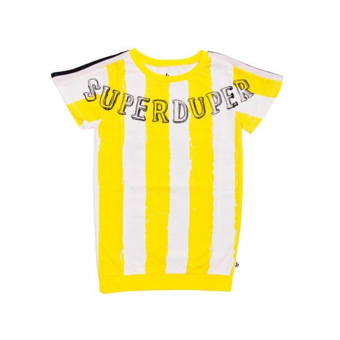 Dress Yellow Stripes