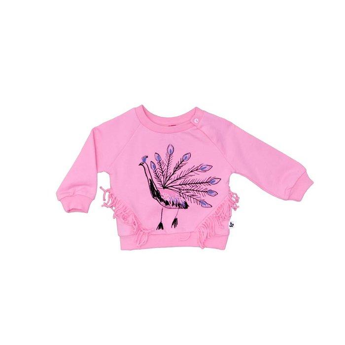 Fringe Sweat Pink