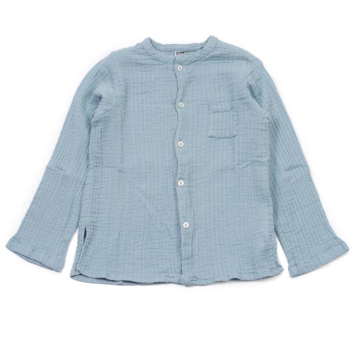 Boy Tunic Bleu Char