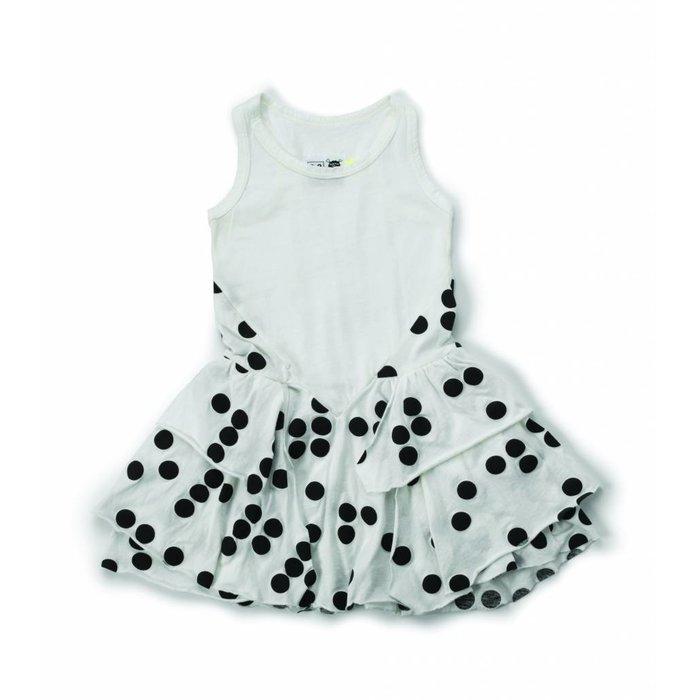 Braille Dress White