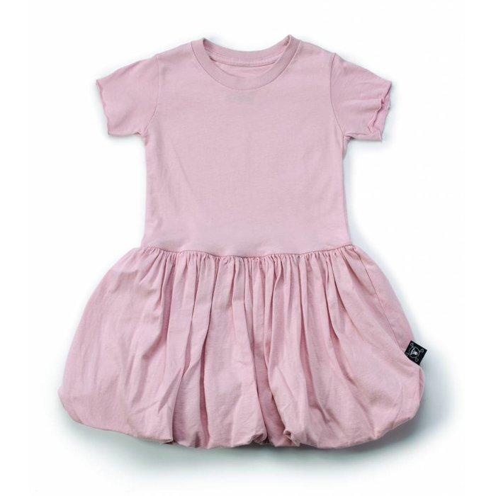 Balloon Dress Powder Pink