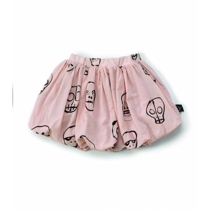 Skull Skirt Powder Pink