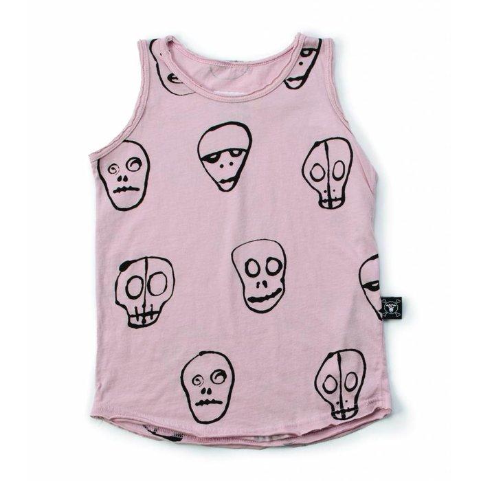Skull Tanktop Powder Pink