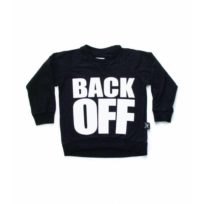 Back Off Shirt Black