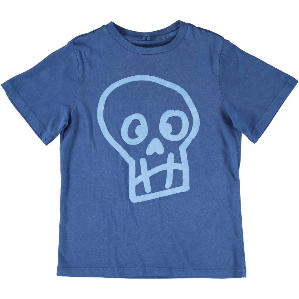 Skull Tee Blue