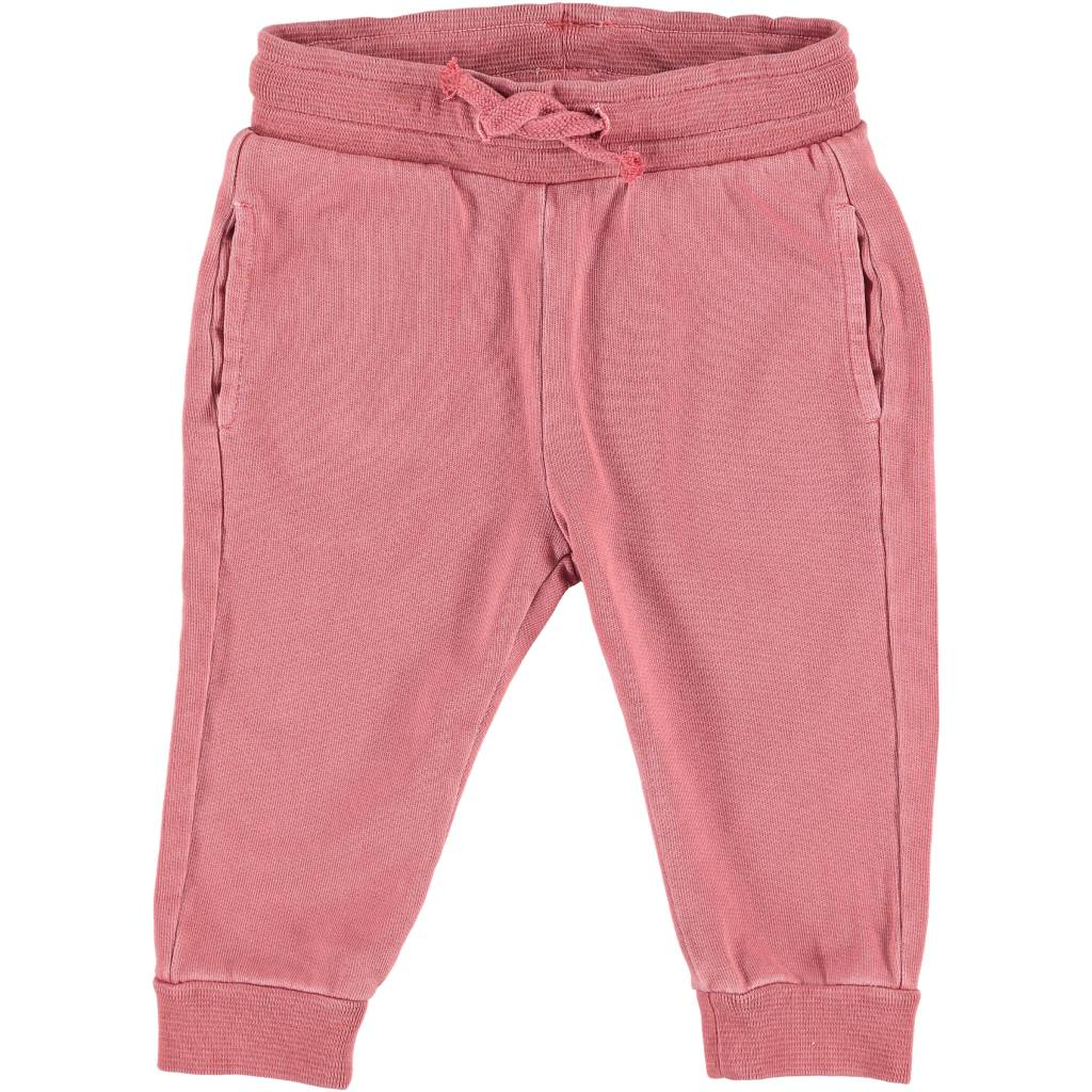 Washed Sweatpants Rasberry