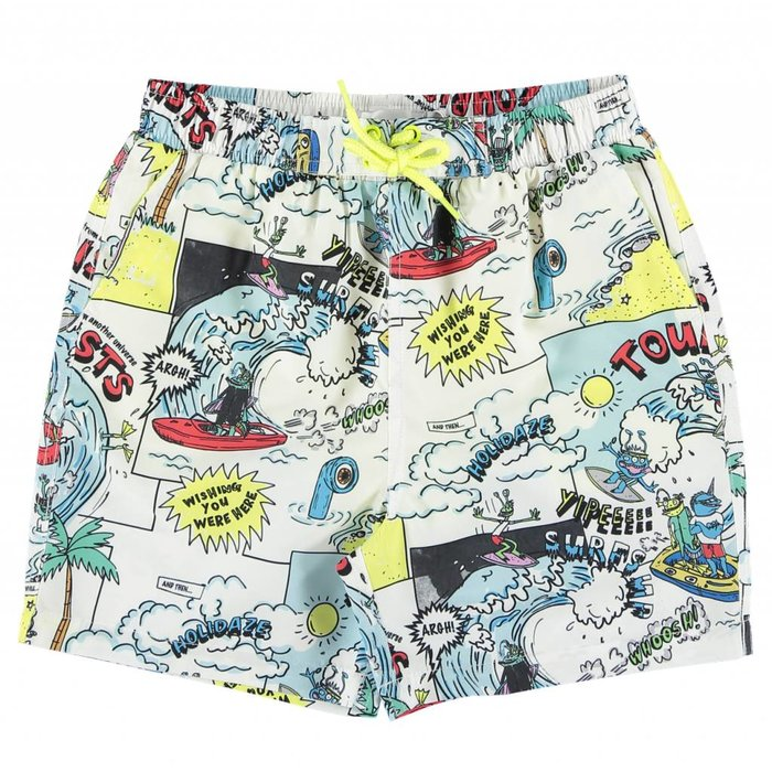 Cartoon Swim Shorts Multi