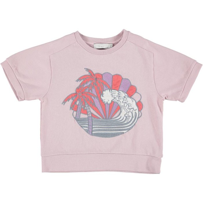 Beachy Sweatshirt Lilac