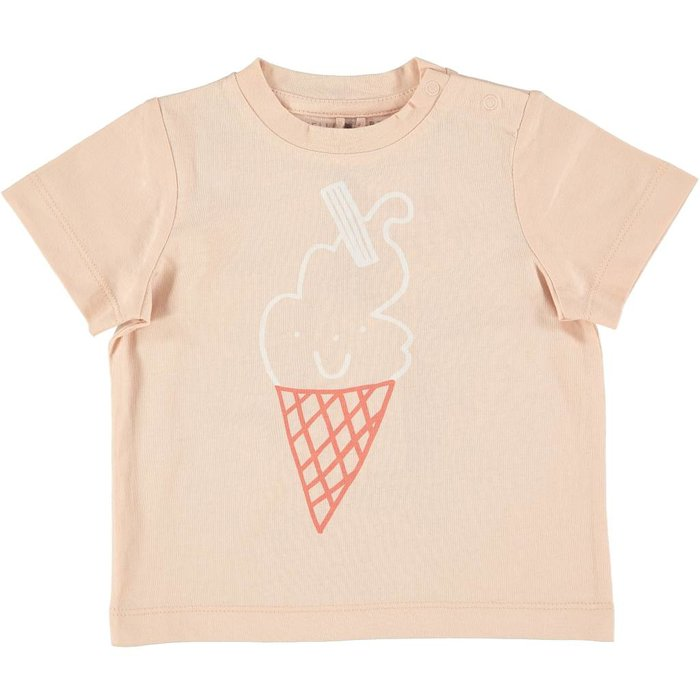 Ice Cream Cone Tee Pink