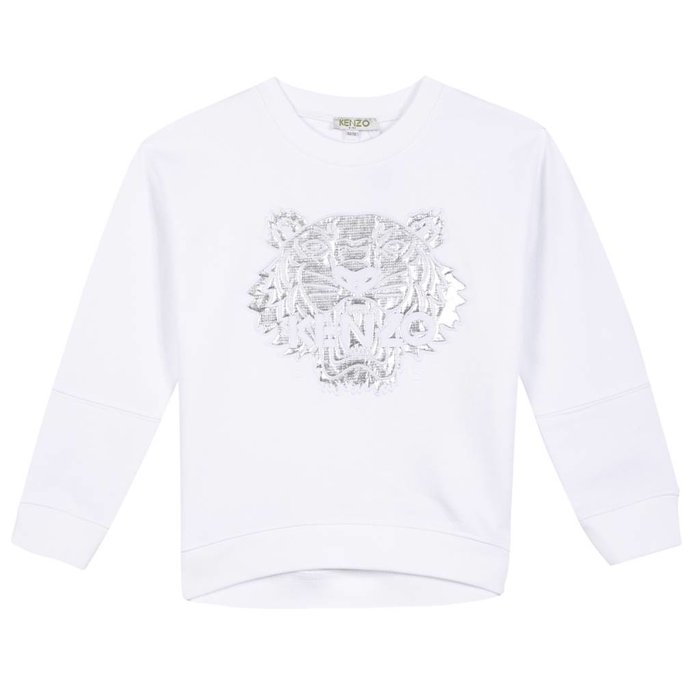 Tiger Sweatshirt White