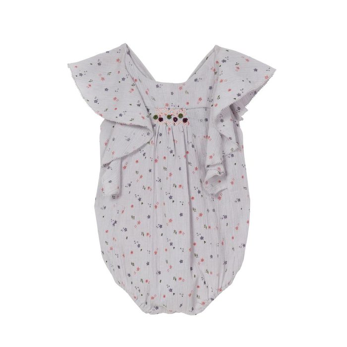 Anjelica- Frill Onesie Provence Floral