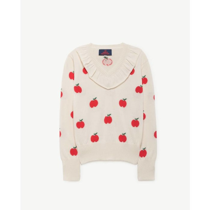 Horsefly Sweater Red Apples