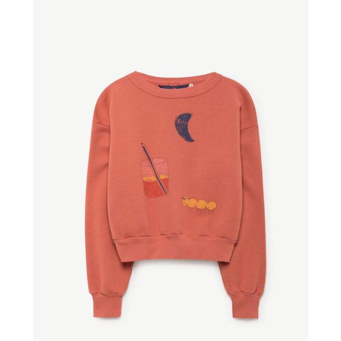 Bear Sweatshirt Red Glass