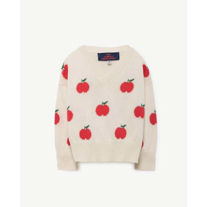 Toucan Sweater Red Apples
