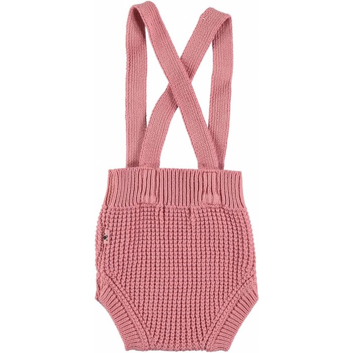 Knit Overall Coral Cloud