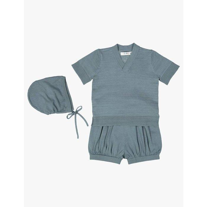 Baby Sweater Set Slate
