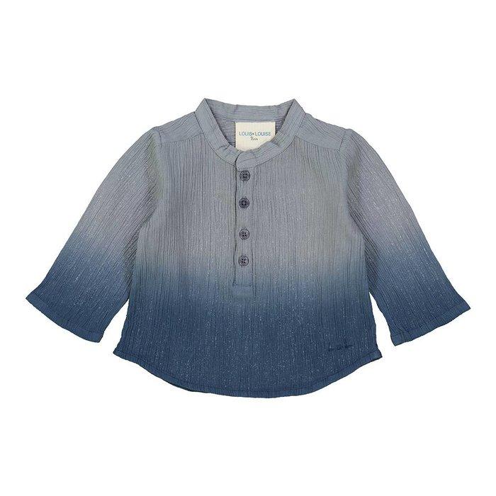Grand Pere Shirt Light Blue/ Deep dye