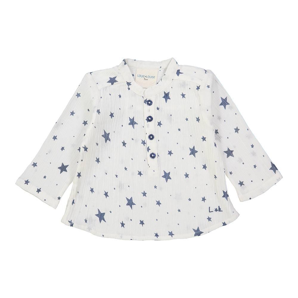 Grand Pere Shirt Blue/Stars