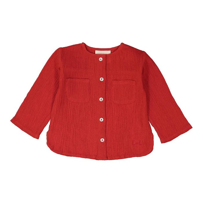 Baptiste Shirt Red