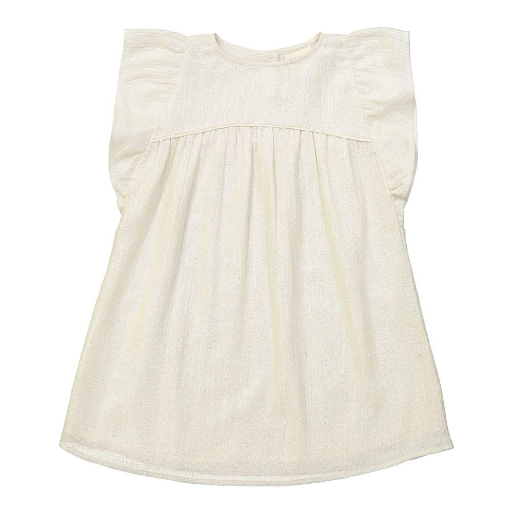 Bettie Dress Long Off White/ Damas