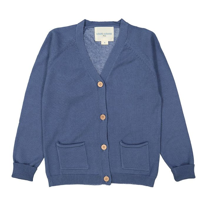 Hubert Cardigan Blue