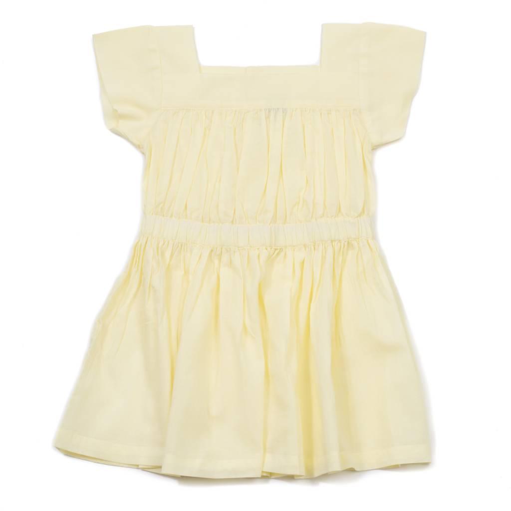 Veil Dress Jaune Sha