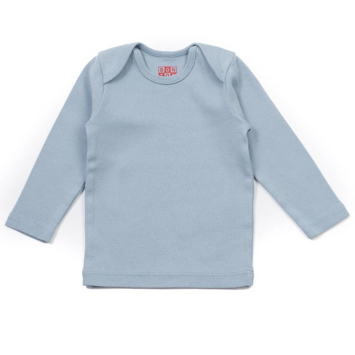 Baby Vest Bleu Char
