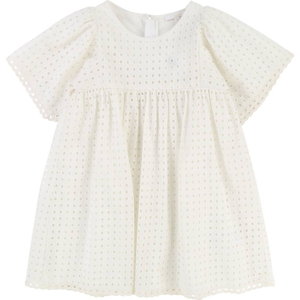 French Dress Off White