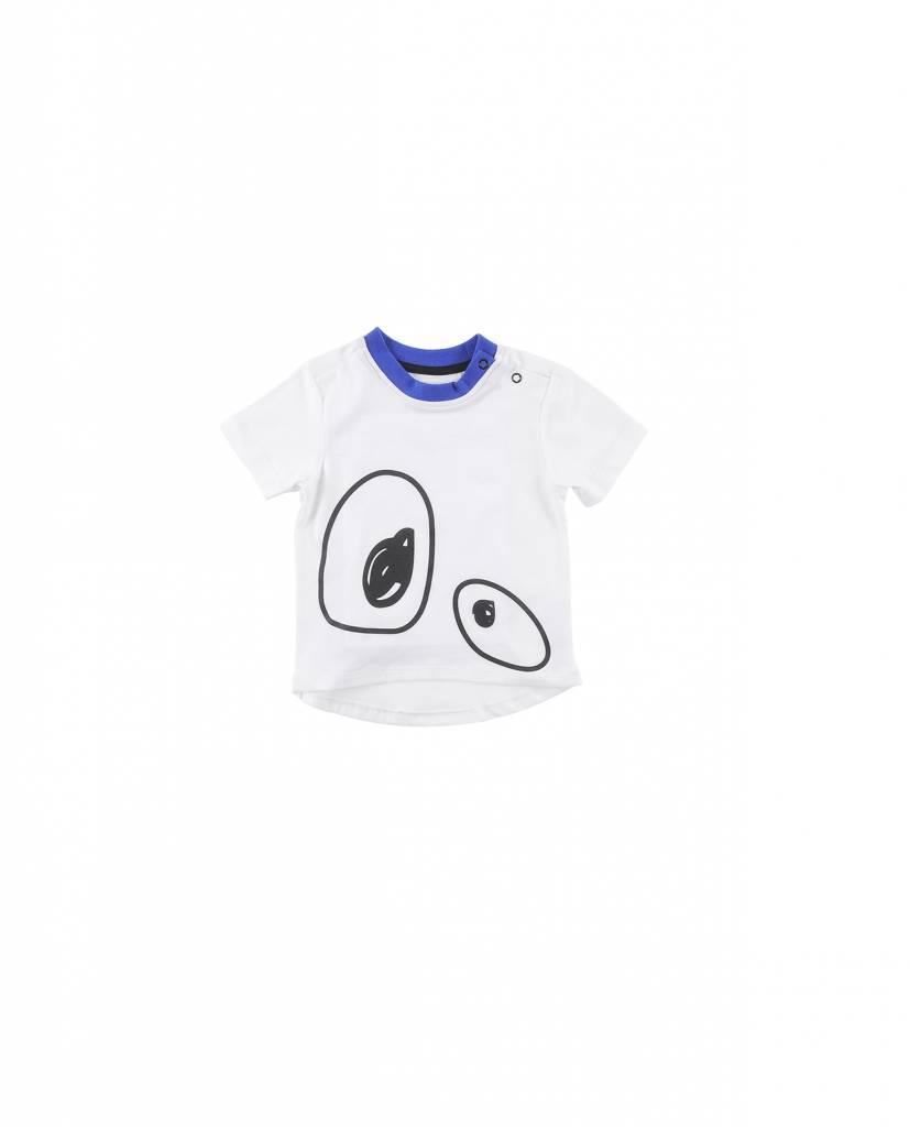 Tshirt Regular Fit White/Black