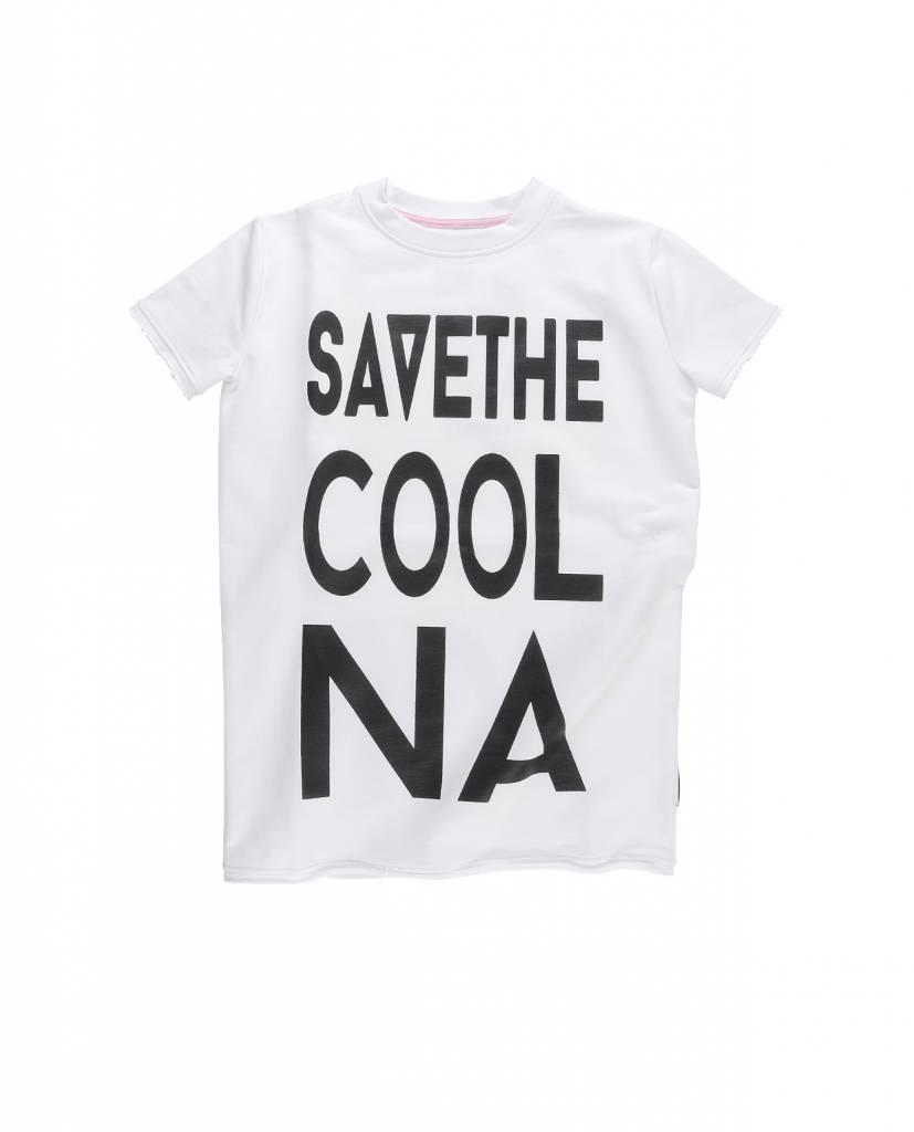 Maxi Tshirt/ Dress White/Black