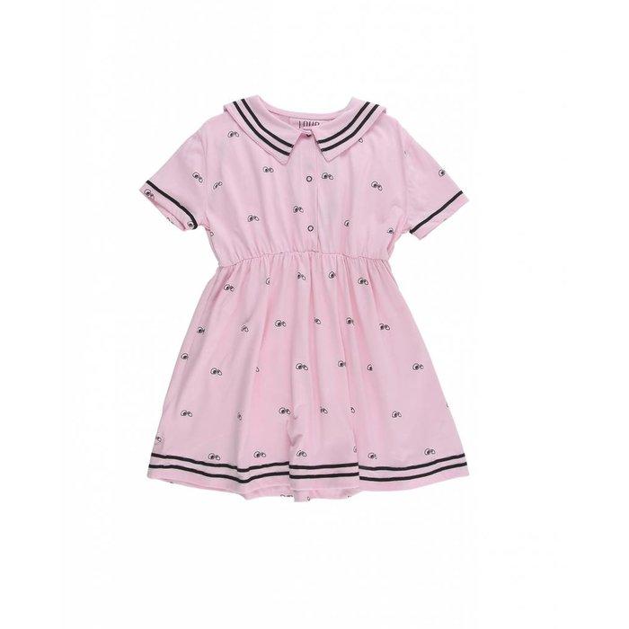 Dress Loose Fit Pink Lady