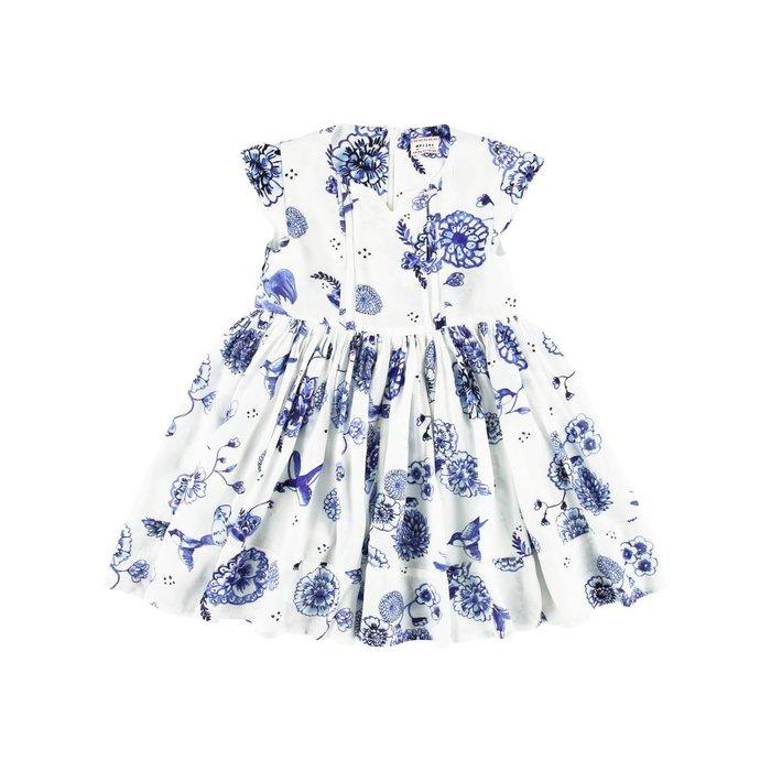 Hailey Dress Delfprint