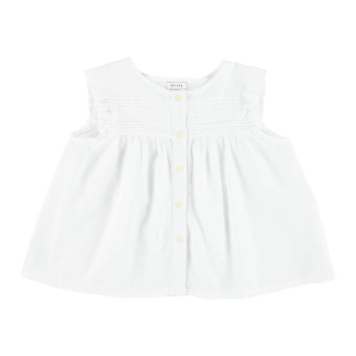 Hollie Shirt Moon White