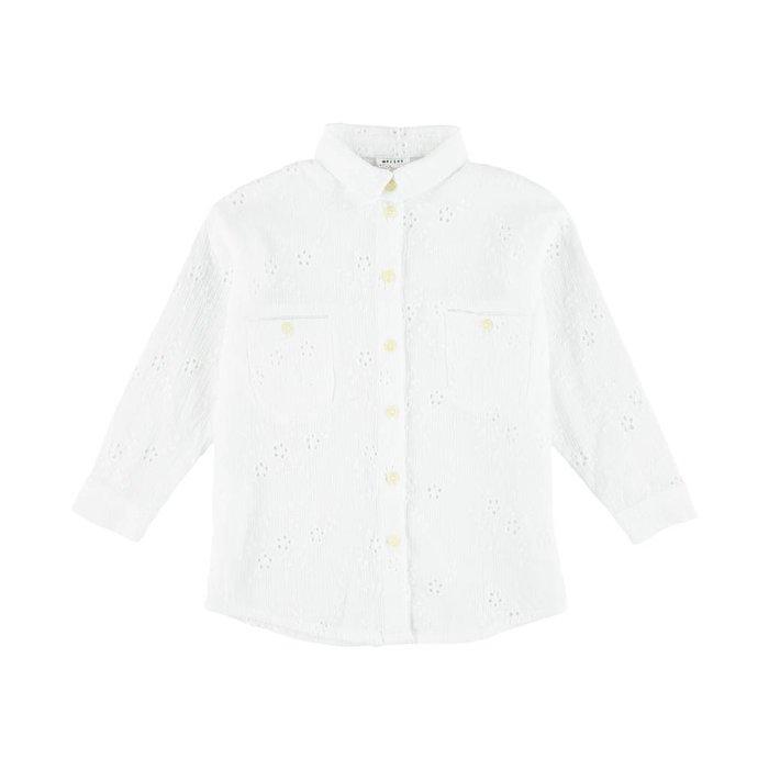 Elroy Shirt Moon White