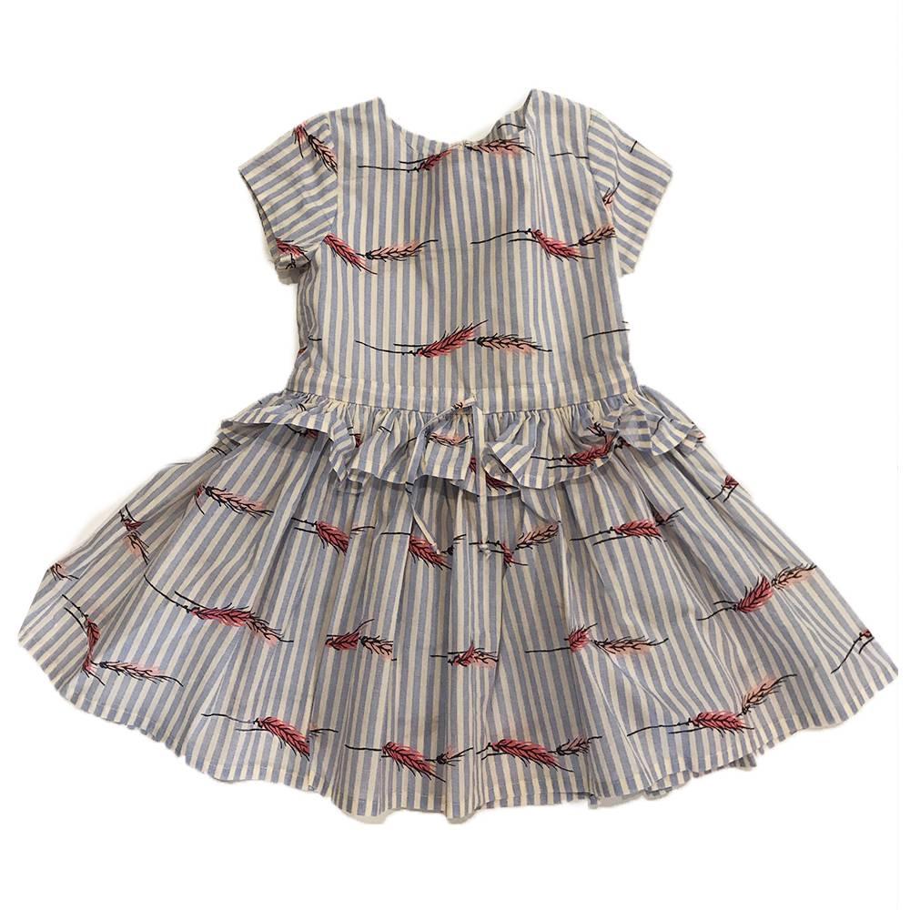 Hannah Dress Wheat Sky