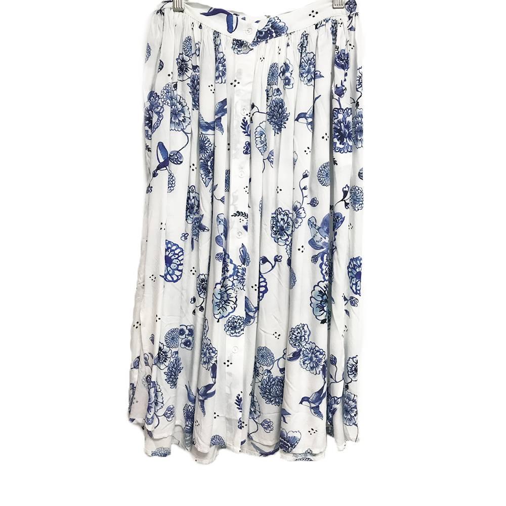 Hailey Skirt Delfprint
