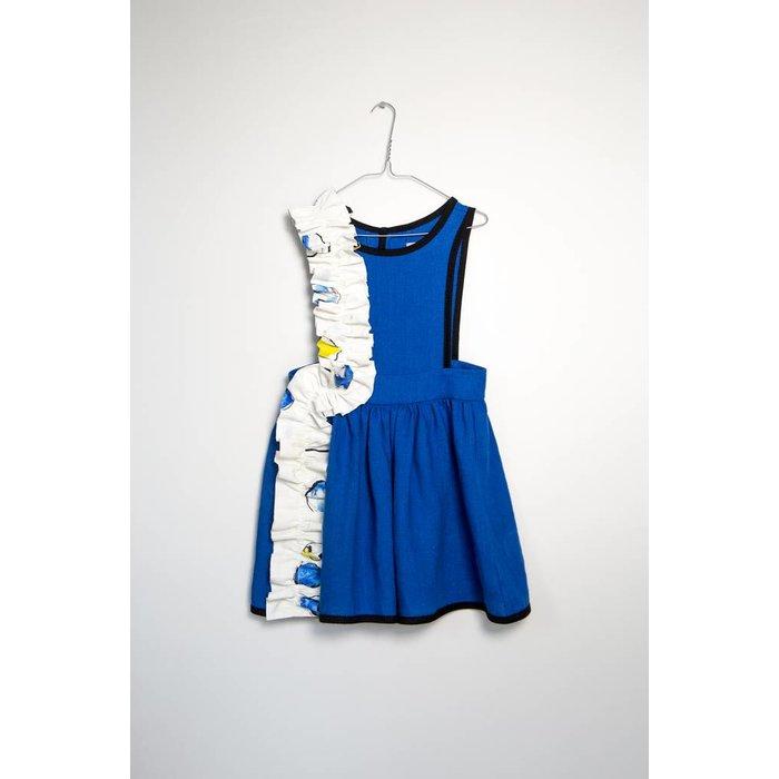 Anais Dress Blue