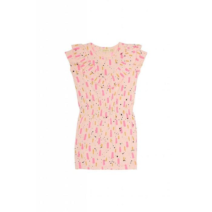 Ariella Dress Peach Parfait