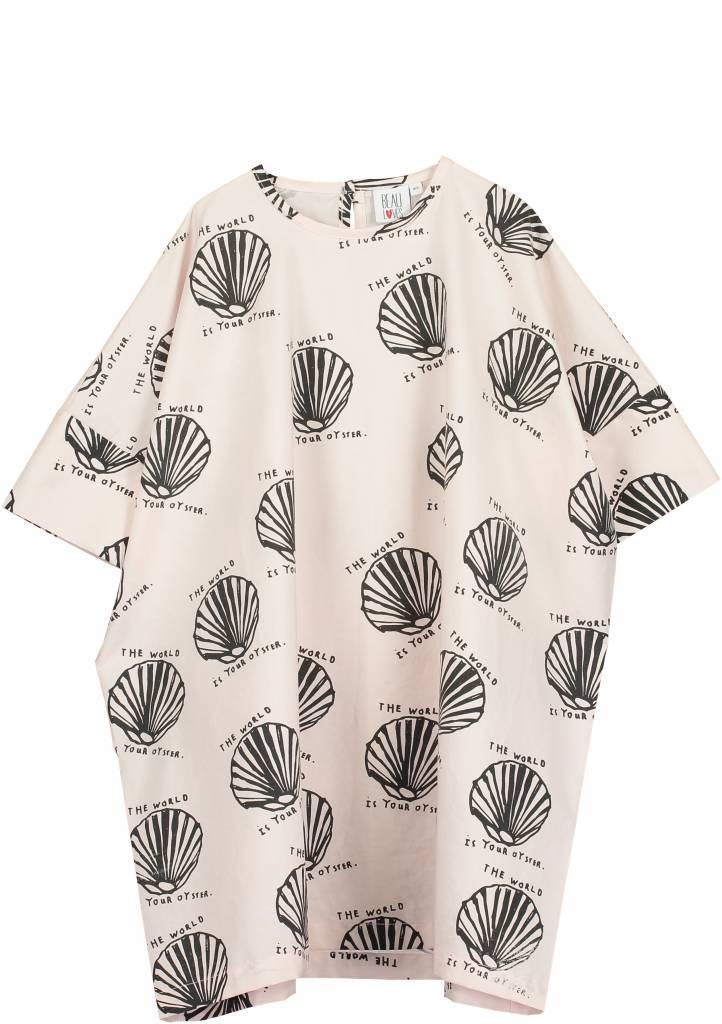 Square Cut Dress Chalk Blush