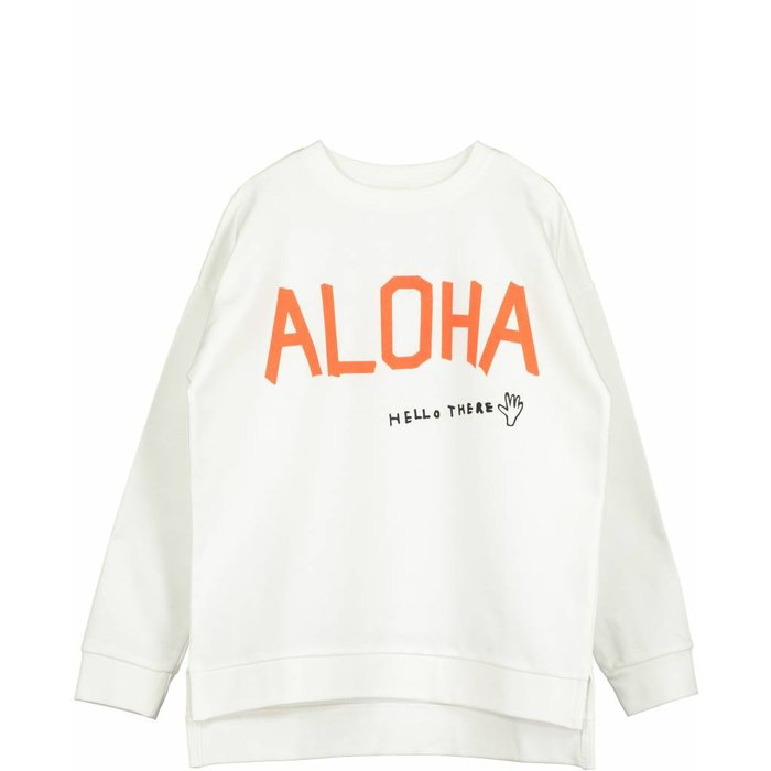 Square Sweater Vanilla Aloha