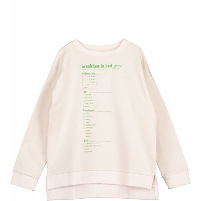 Square Sweater Chalk Blush