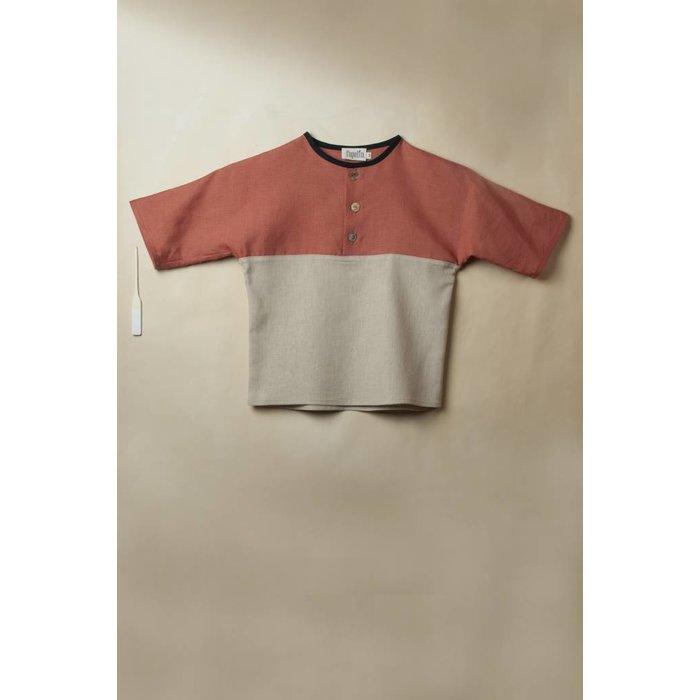 Yolk Style Shirt Terracotta