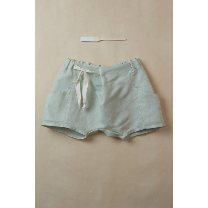 Shaped Shorts Green