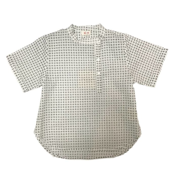 Vadmin Shirt Black White Squares