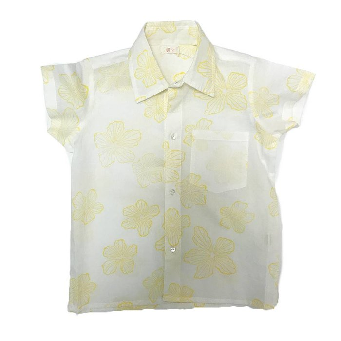 Orso shirt Yellow Flowers