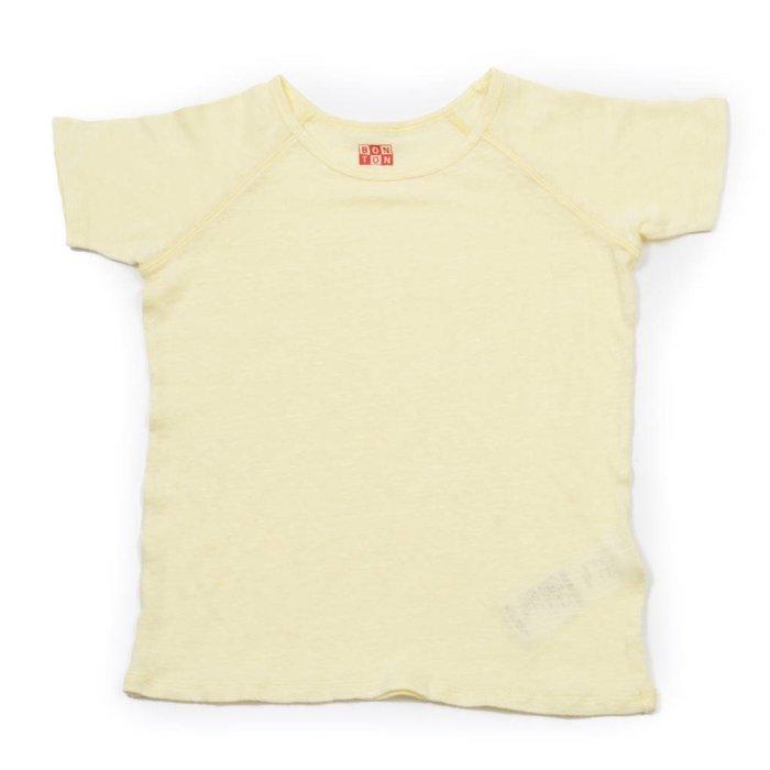 Baby Short Sleeve Tshirt Jaune Sha