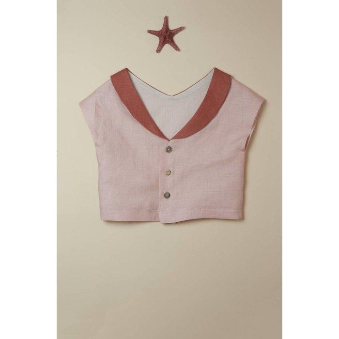 Sailor Style Shirt Pink